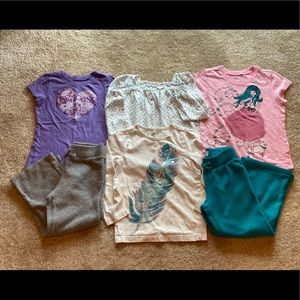 6 piece xs Children's place, old navy, crazy 8 lot